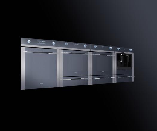 Smeg s linear for kitchens architecture design for Smeg kitchen designs