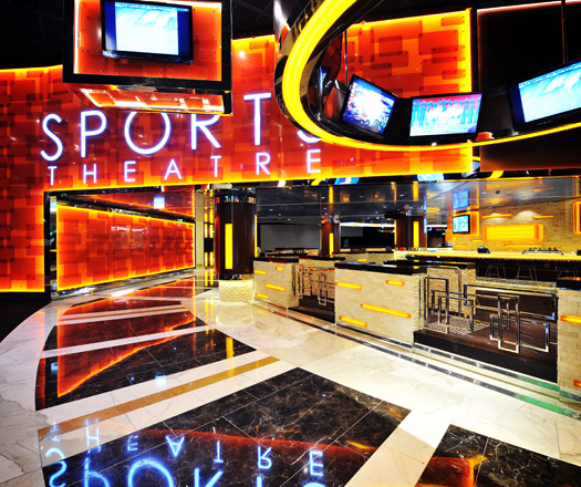 Sports Theatre And Bar By Classic Tiles Architecture