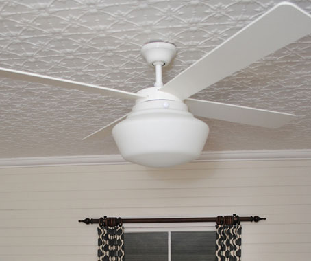 Schoolhouse Ceiling Fan From Spinifex Indesignlive