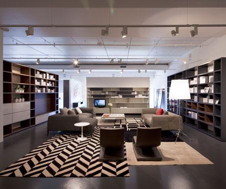 Poliform sydney showroom architecture design - Poliform showroom ...
