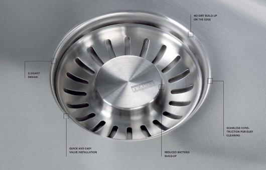Frankie Black Sink : Franke Integrated Sink Waste - Indesignlive Daily Connection to ...