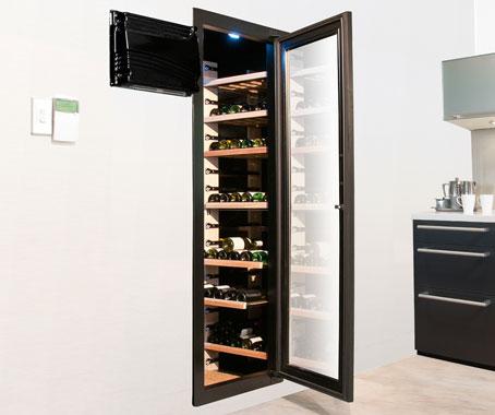 Espace walk in cellars architecture design for Walk in wine cellars