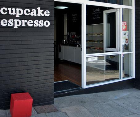 Cupcake espresso by liquid architecture architecture design - Small retail space collection ...