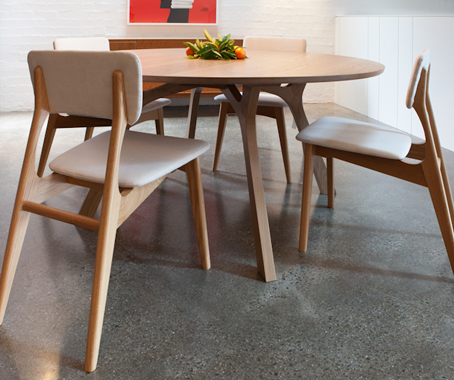 Lyssna Round Dining TableIndesignliveDaily Connection to