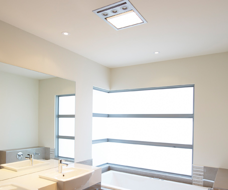 Ixl tastic neo lights the way architecture design the flush mounted sleek design houses the tungsten halogen heat lamps neatly behind the frosted toughened glass and uses energy saving compact fluorescent mozeypictures Images