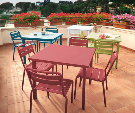 A fresh injection of colour has given EMU's long-trusted outdoor furniture  an eyecatching new vibrancy. - Fresh Colours For EMU Classics - Indesignlive Daily Connection