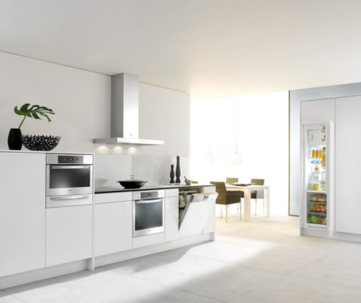 Refrigeration integration from miele architecture design - Miele kitchen cabinets ...