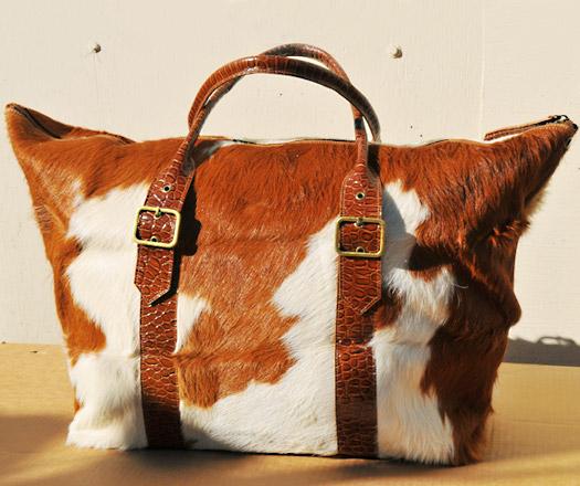 Cow Handbag