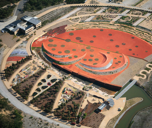 Landscape award the australian garden architecture design for Landscape design courses adelaide