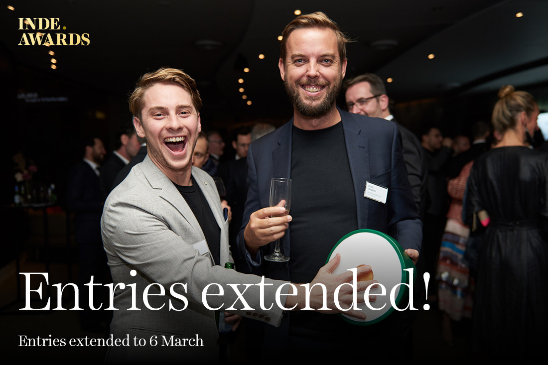 Entries Extended! New Deadline, 6 March