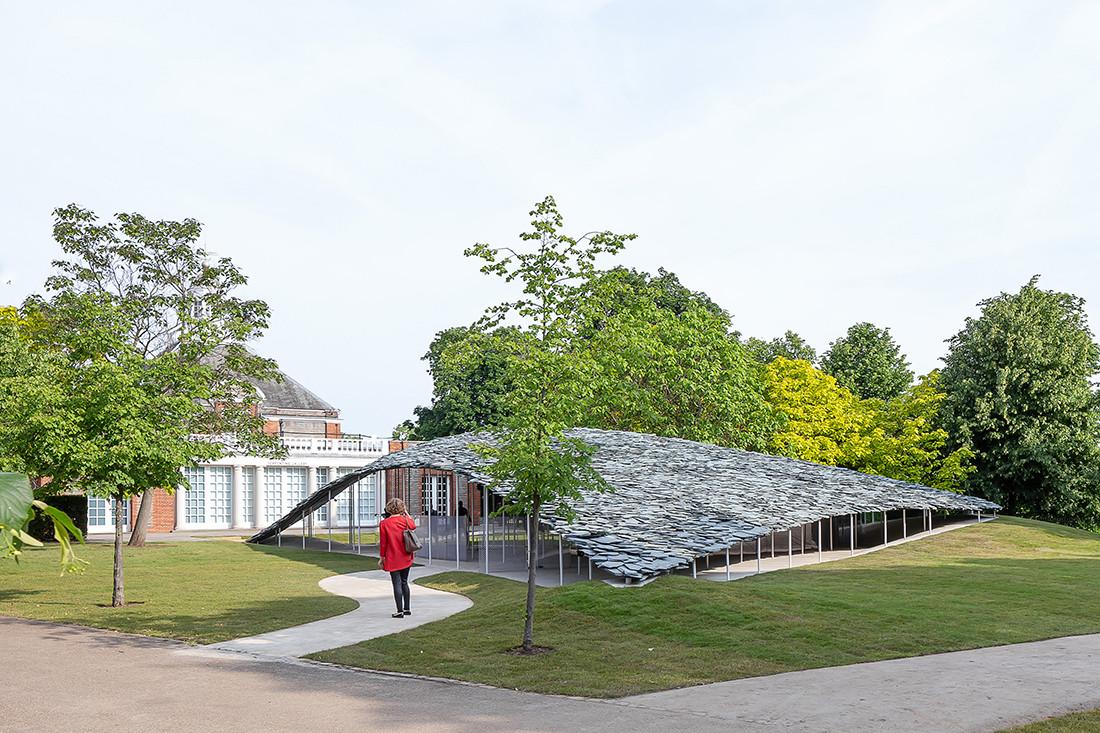 Junya Ishigami's 2018 Serpentine Pavilion.