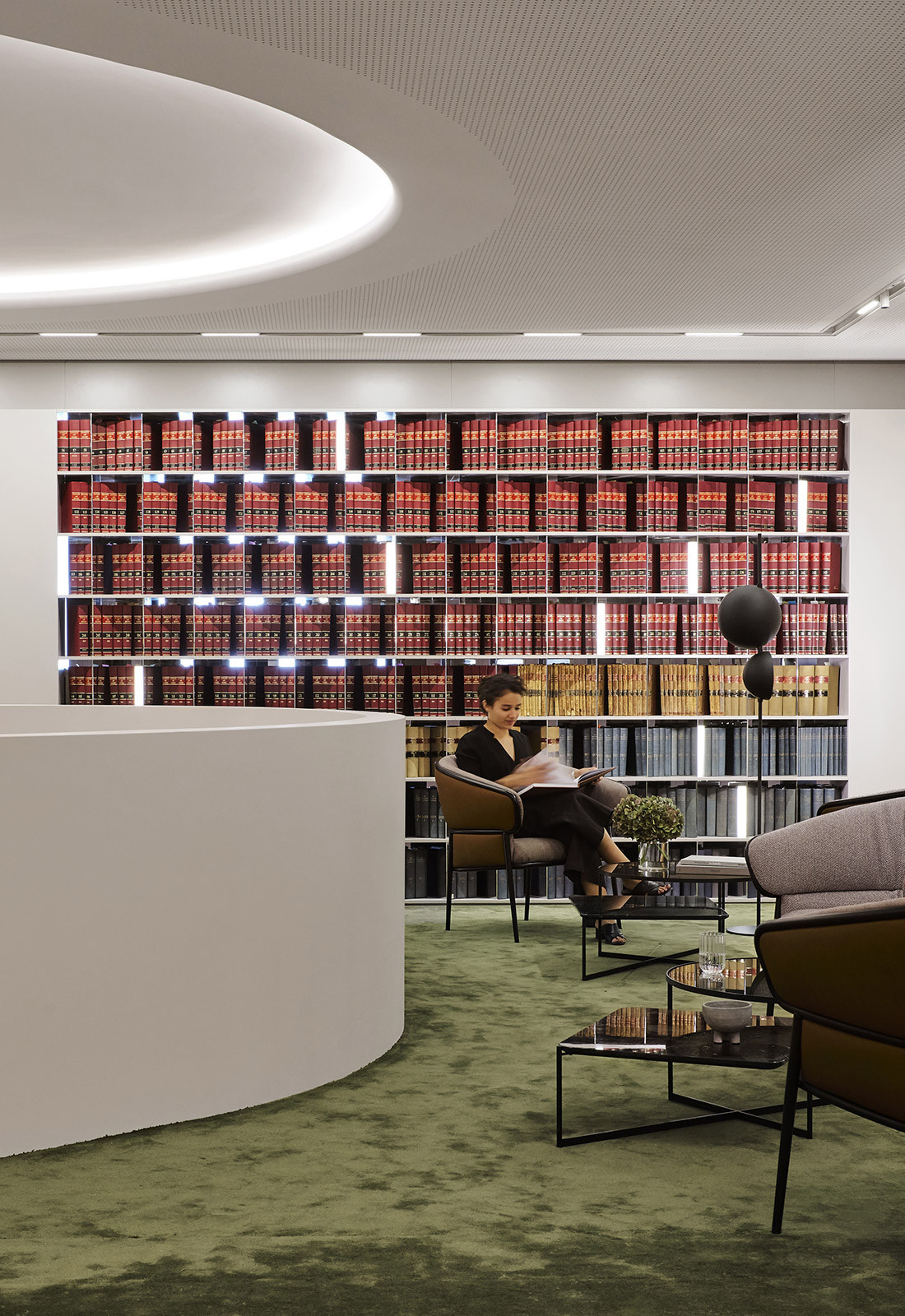 Banco Chambers Martin Place office fitout, designed by Bates Smart