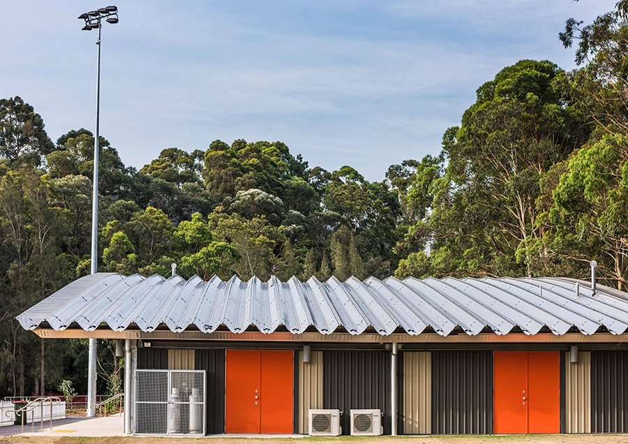 Blackman Park Scout and Amenities Hall, Lane Cove, photo: Keith McInnes.