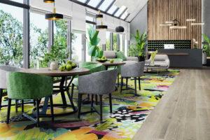 Multicoloured Creo Dining Room