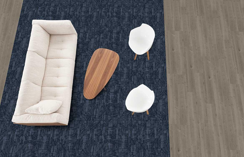 Blue Grey Couch Floristics