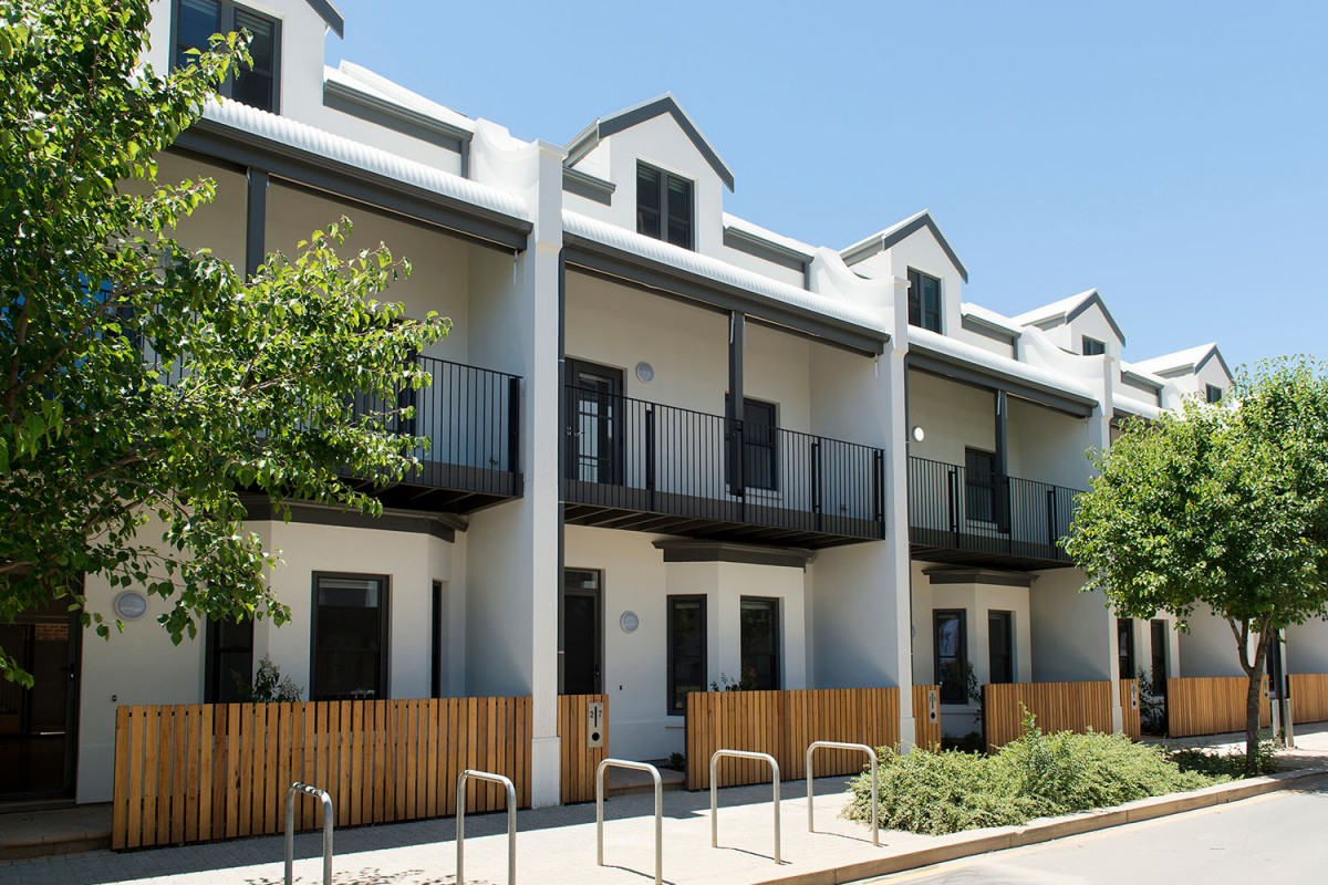 Multiple Dwelling, sponsored by Wood Solutions: The Prince's Terrace Adelaide Defence Housing Australia.