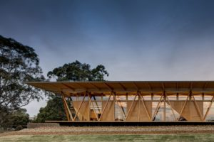 Education, sponsored by ARCPANEL, awarded to Macquarie University Incubator by Architectus.