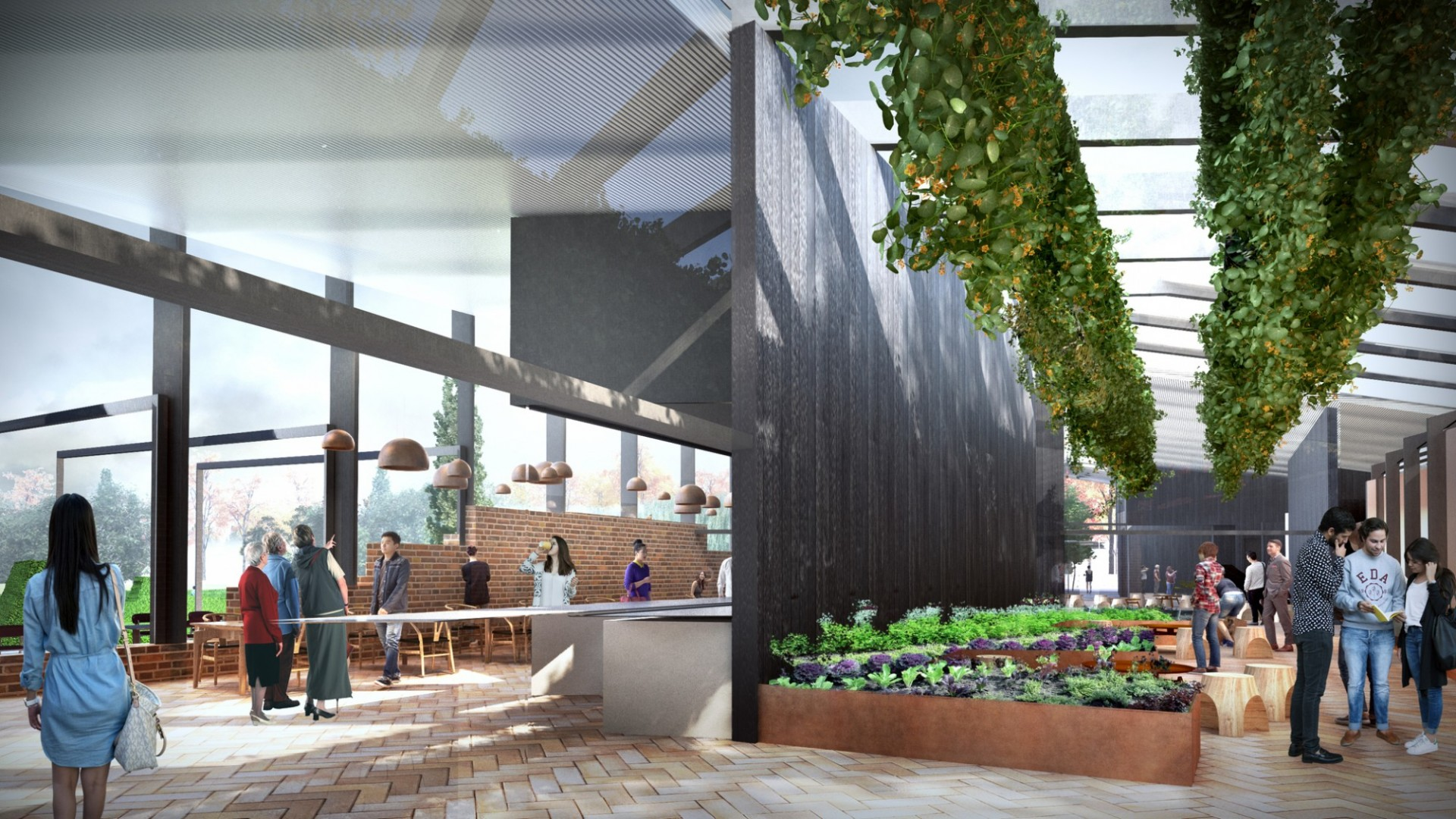 Render for Bowral Conservatory by JWA.