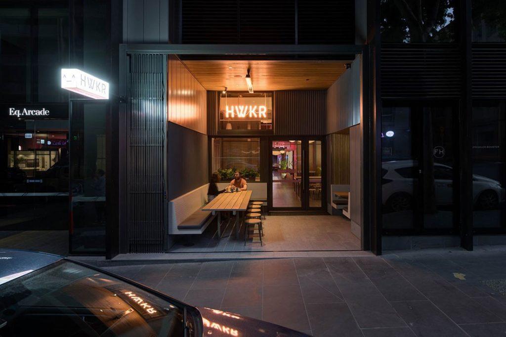 Melbourne's HWKR restaurant