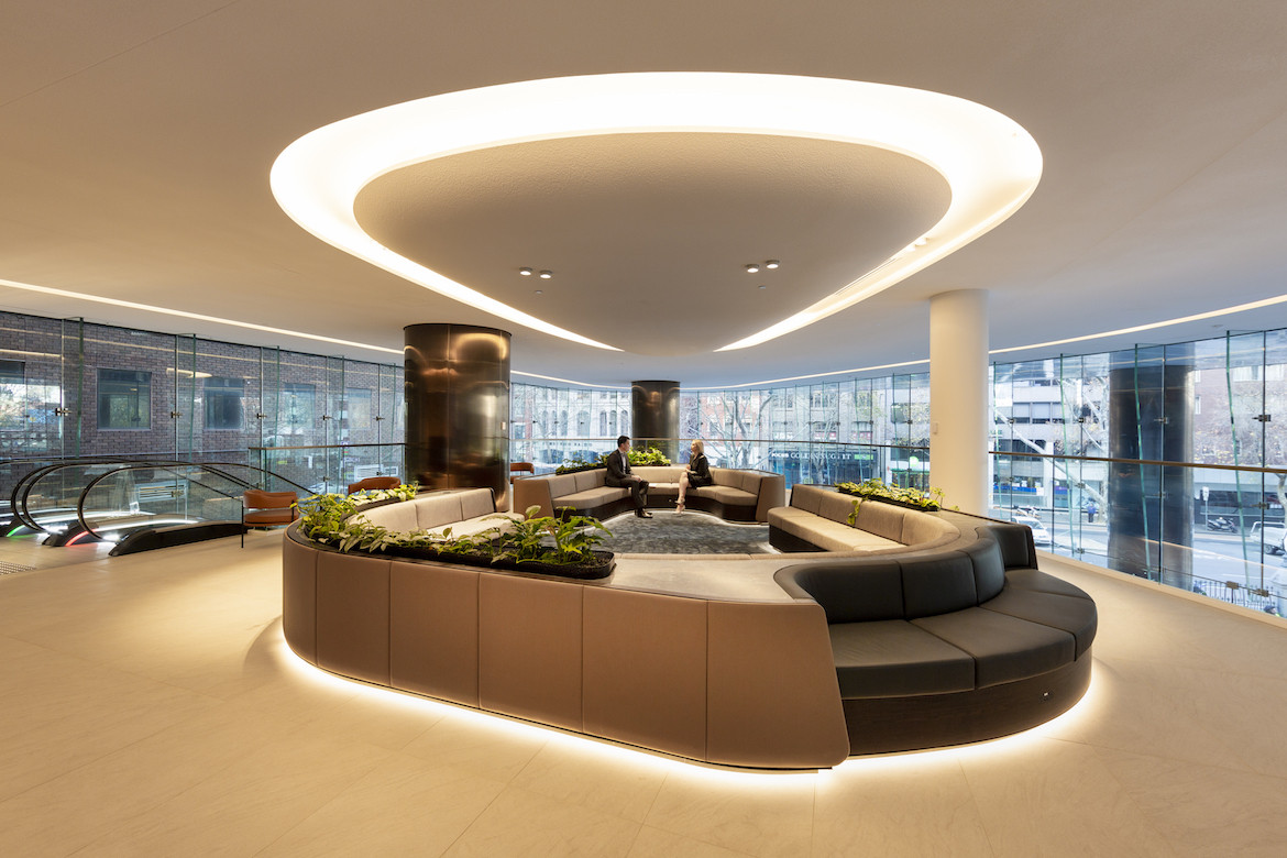 Technology meets wellness in Charter Hall x Cox Architecture's 130 Lonsdale Street