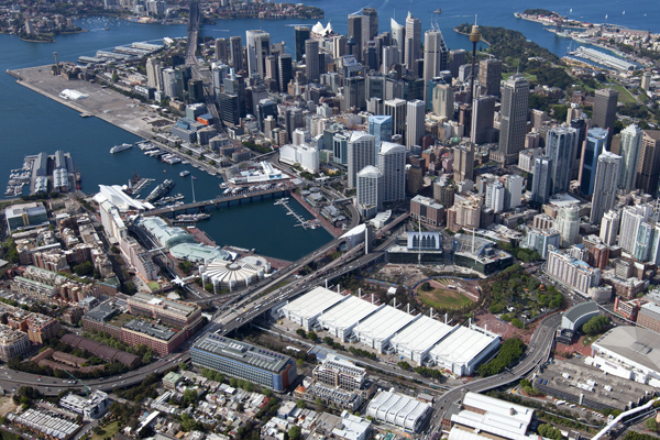 Sydney Exhibition and Convention Centre, Darling Harbour