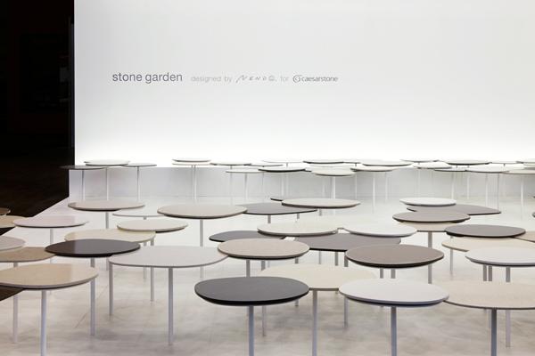 Stone Garden by Nendo