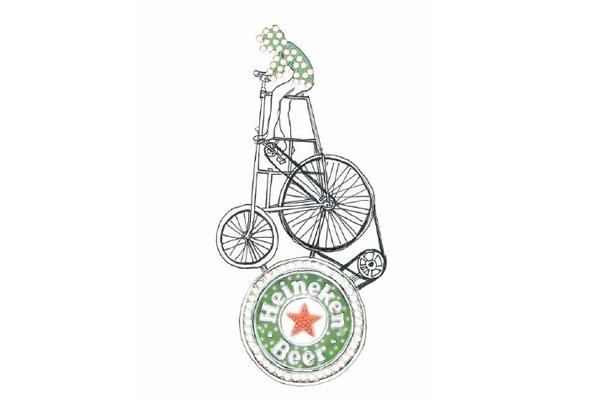the glue society, pacha, the ivy, james dive, heineken, bike, sydney