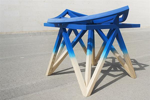 Unfolding Unity stool_Aljoud Lootah