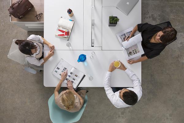 arras spine herman miller office desk system