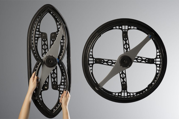collapsing wheel vitamin