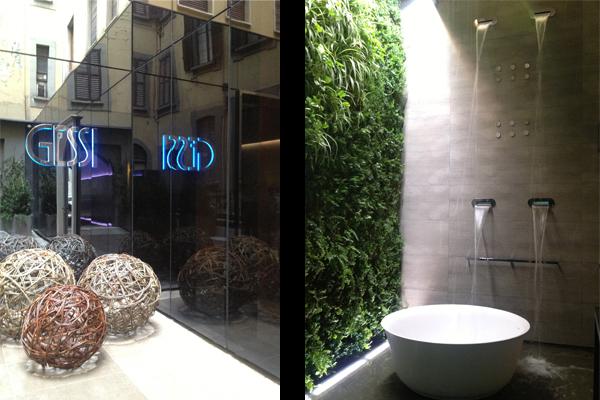 gessi showroom milano salone indesign