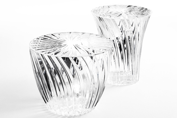sparkle table and stool kartell