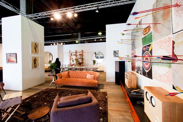 BDDW VIP Lounge design fair collective new york