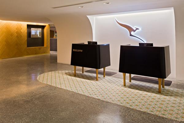 Qantas Lounge Singapore
