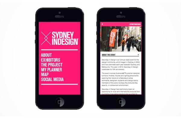 Sydney Indesign Iphone App