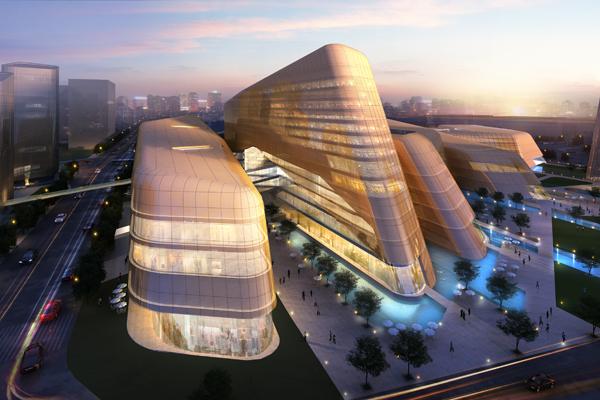 Beijing, China - Xingchuang Development Co Ltd (mixed-use architecture)