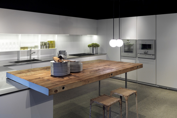 Australia 39 s sleek new boffi showroom indesignlive for Kitchens liverpool nsw