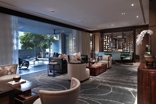 Singapore - Cameron Woo Design (interior design apartment)