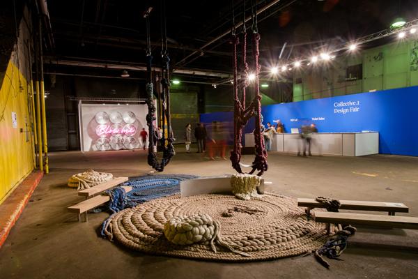 Dana Barnes collective design fair new york