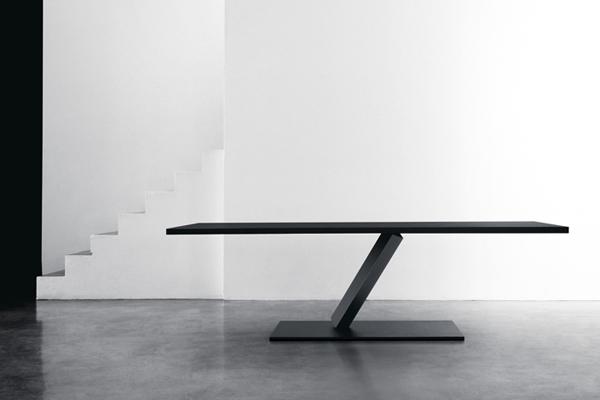 element one world large black table