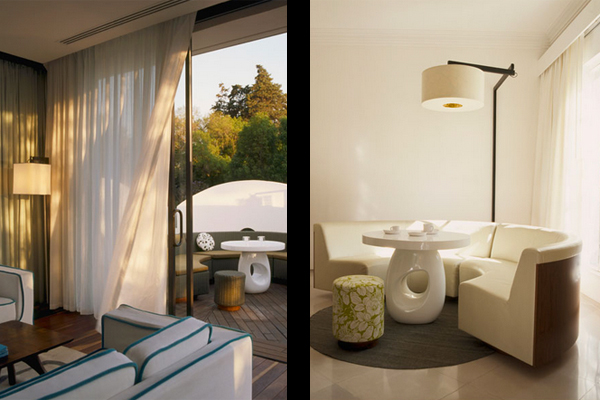 rooms and private terrace design hotels condesa df