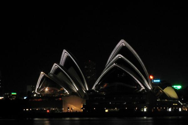 Sydney Opera House - north rims