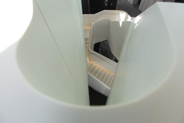 corian dupont stairway