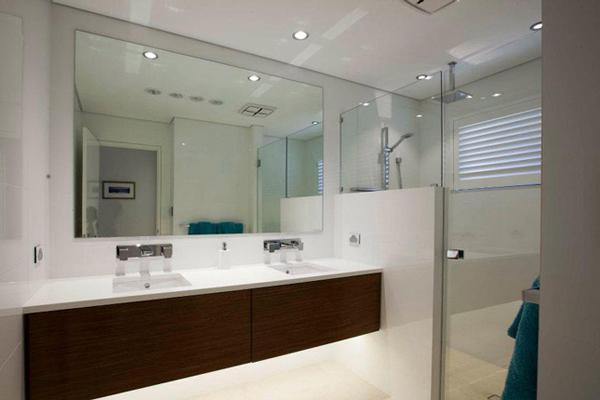 d900 brightgreen bathroom installation