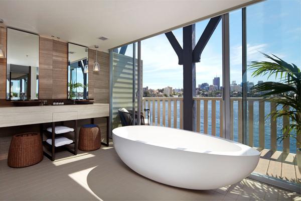 end of pier suite sebel pier one bathroom bates smart. Suite Spot  Sebel Pier One   Architecture   Design