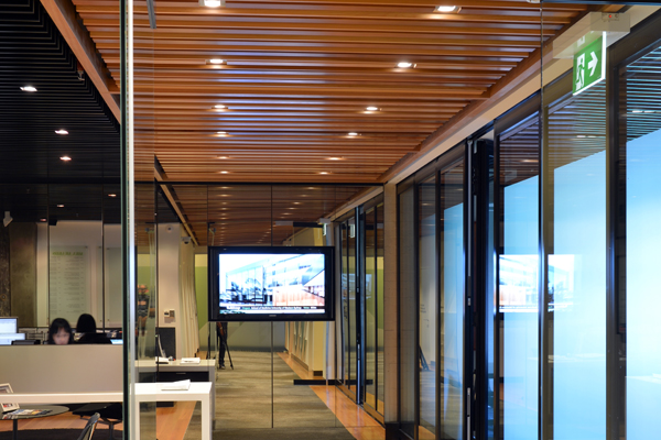 euroline ceiling timber