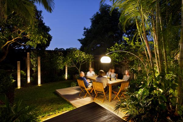 lush garden pepo randwick dusk