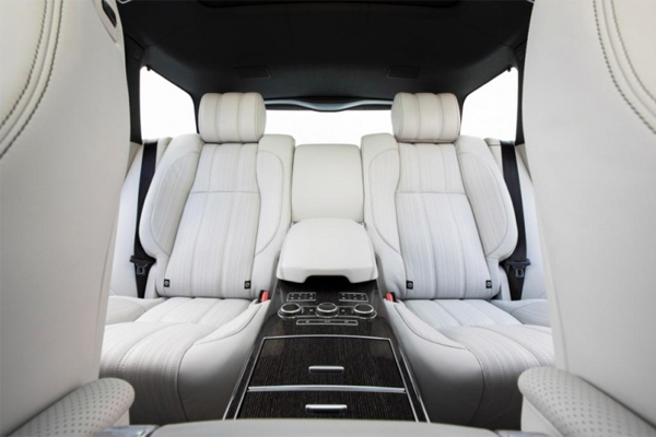 range rover interior design awards