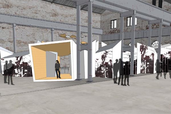 australian technology park galleria sydney indesign podium
