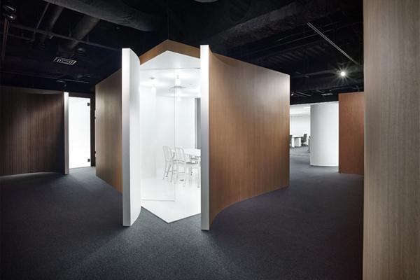 spice box nendo meeting room